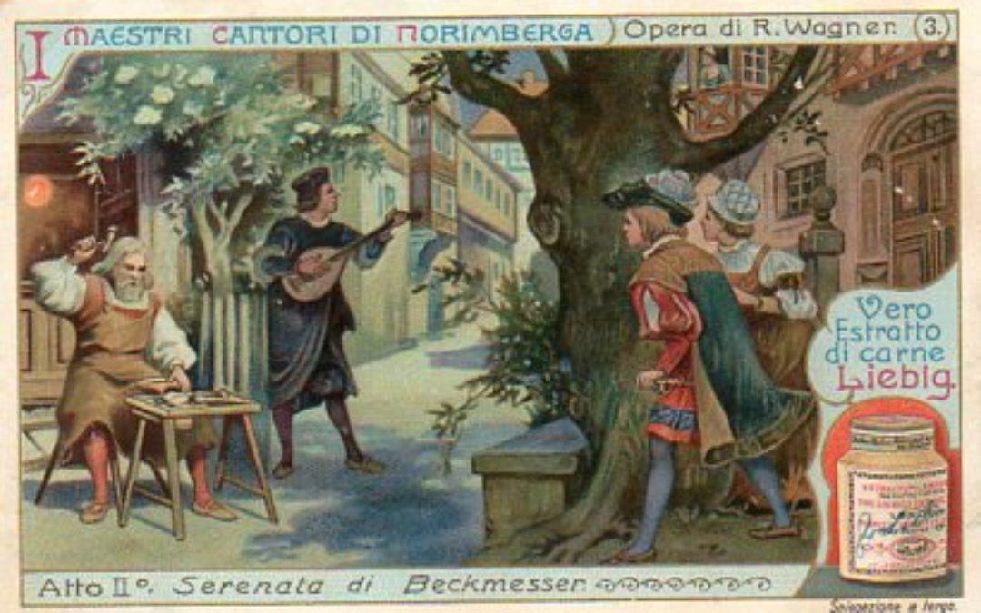 "Guardare l'opera ""I Maestri Cantori di Norimberga"""