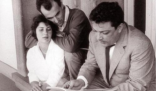 Nuria Schoenberg, Luigi Nono, Bruno Maderna