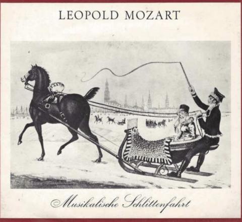 Un viaggio musicale in slitta con papà Mozart