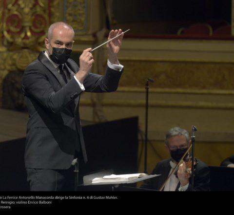 Manacorda dirige Mahler in Fenice
