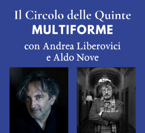 """S2 Spinoff - Andrea Liberovici e Aldo Nove per """"MultiForme"""""""