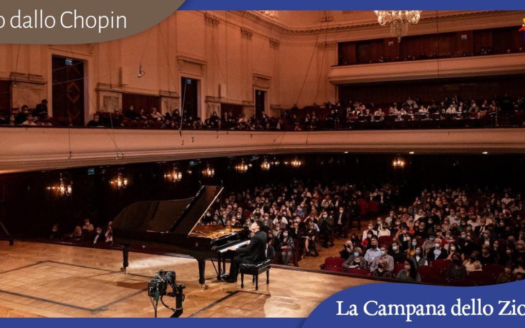 Diario dallo Chopin: il primo giorno